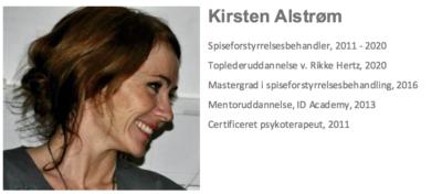 Psykoterapeut Kirsten Alstrøm